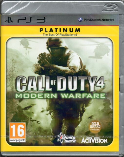 CALL OF DUTY 4: MODERN WARFARE GAME PS3 ~ NEW / SEALED