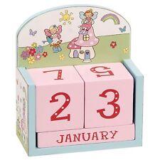 Wooden Fairy Garden Girls Bedroom Perpetual Calendar