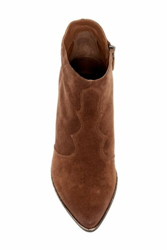 Lennon Sko Vita Zip Ankel Bootie Side Acorn Dolce Suede Ny Sz 5m 6 07w1Fq