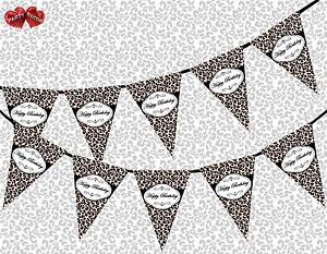 Happy-Birthday-Leopard-Spots-Black-Chic-Theme-Bunting-Banner-party-decoration-UK