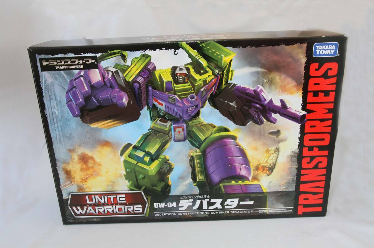 Takara Tomy Transformers Unite Warriors Devastator UW04 Figure from Japan JP
