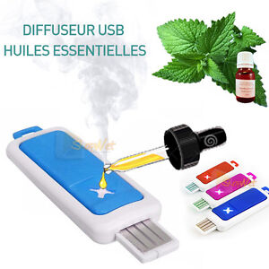 Diffuseur huiles essentielles mini usb de voyage pour le - Diffuseur huiles essentielles voiture ...
