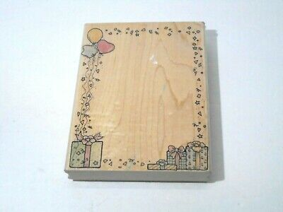 Heartfelt Creations Small Classic Petunia .25 to 4.25 Cling Rubber Stamp