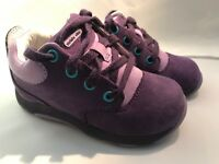 Stride Rite Purple Nubuck Leather Shoes Infants Size 6 Medium