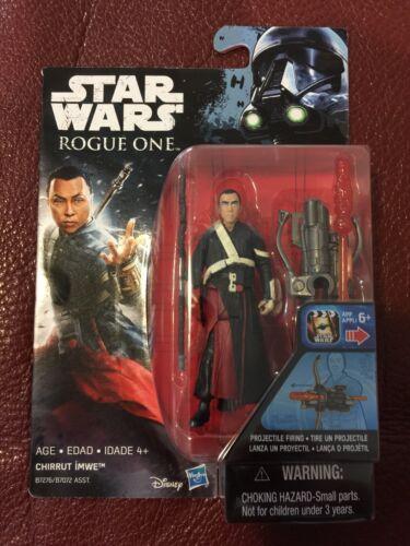 Star Wars Rogue One Chirrut Imwe 3.75 Inch Figure Sealed New
