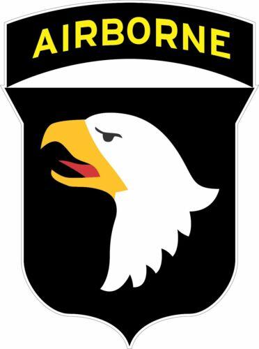 US Army 101st Airborne military Logo Bumper Sticker Vinyl Decal