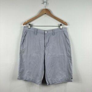 Billabong-Mens-Shorts-Size-34-Grey
