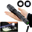 60000 LM 5 Modes XM-L T6 LED 18650 Powerful Torch Police Clip Flashlight Lamp QU
