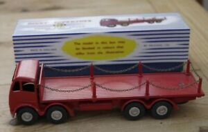 Vintage-Dinky-Foden-Flat-Truck-with-Chains-905