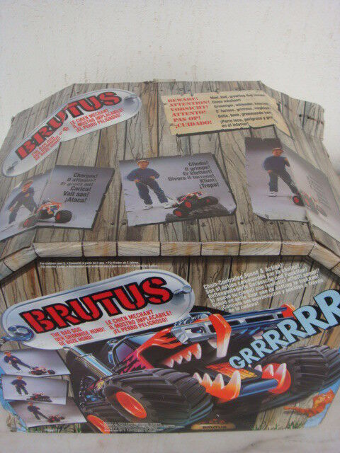BRUTUS THE BAD DOG 1992 MATTEL BATTERY OPERATED 1992 VTG
