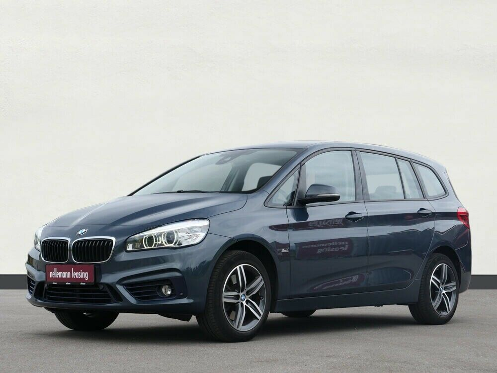 BMW 220d 2,0 Gran Tourer Sport Line aut. 7p 5d - 1.895 kr.