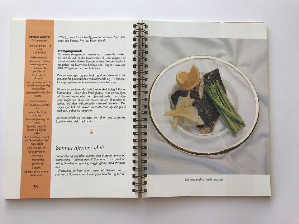FEDTFATTIG KOST - FESTRETTER, Anne Larsen, emne: mad og vin