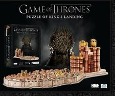 Game Of Thrones 3D Puzzle Kings Landing Red Keep