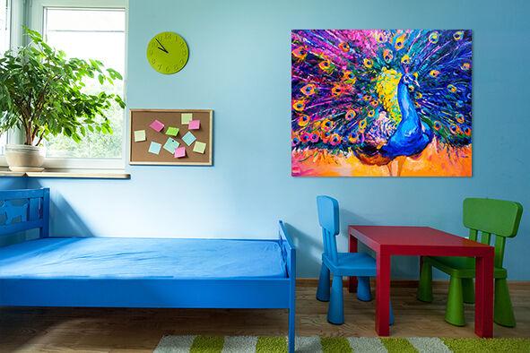 3D Schöne Pfauen Farbe Feder 76 Fototapeten Wandbild Wandbild Wandbild BildTapete AJSTORE DE Lemon | Vorzugspreis  | Moderne Muster  | Helle Farben  f145ae