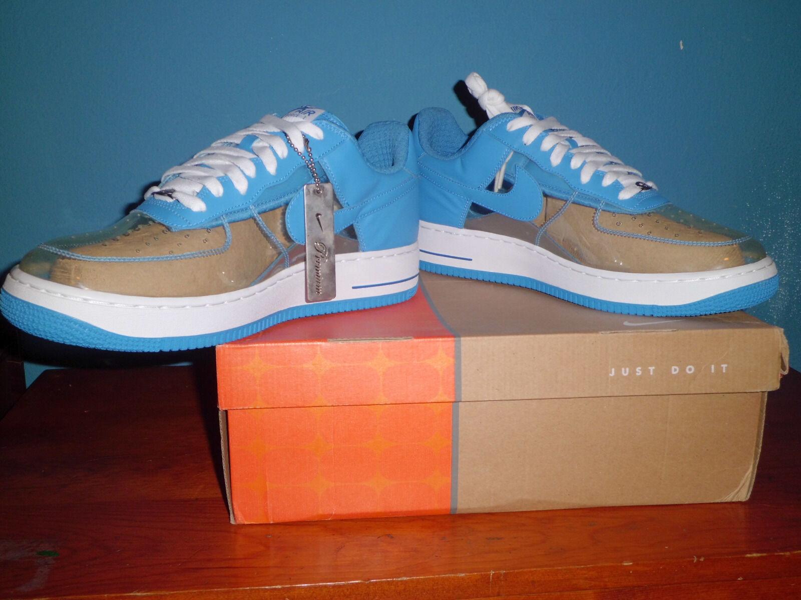 Nike Air Force1 Premium mujer invisible de 12 los hombres el tamaño 12 de material con og Box ~ el mas popular de zapatos para hombres y mujeres 8c645b