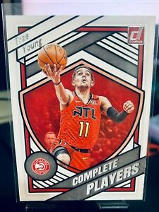 2020-21 NBA Donruss TRAE YOUNG Complete Players Insert Card #3 Atlanta Hawks