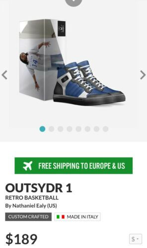 """Mr Sawed-Off/'s New Signature Shoe /""""Outsydr 1/"""" Drops in Oct pre-order now!"""