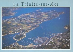 56-cpsm-LA-TRINITE-SUR-MER-Vue-generale-sur-la-baie