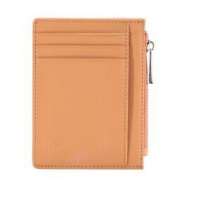 Porta Carte di Credito – Blocco RFID/NFC – Portafoglio Wallet – Vera Pelle Fiore