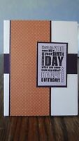 Stampin Up Card Kit Set Of 4 happy Birthday Cards