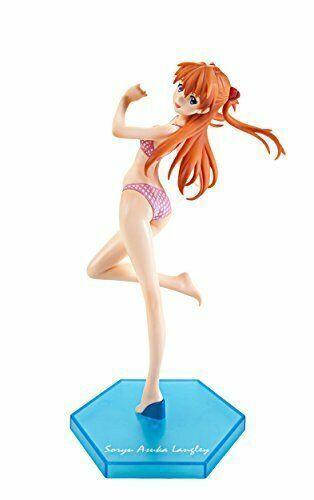 Sega Neon Genesis Evangelion Asuka Langley Soryu Premium Summer Beach Figure