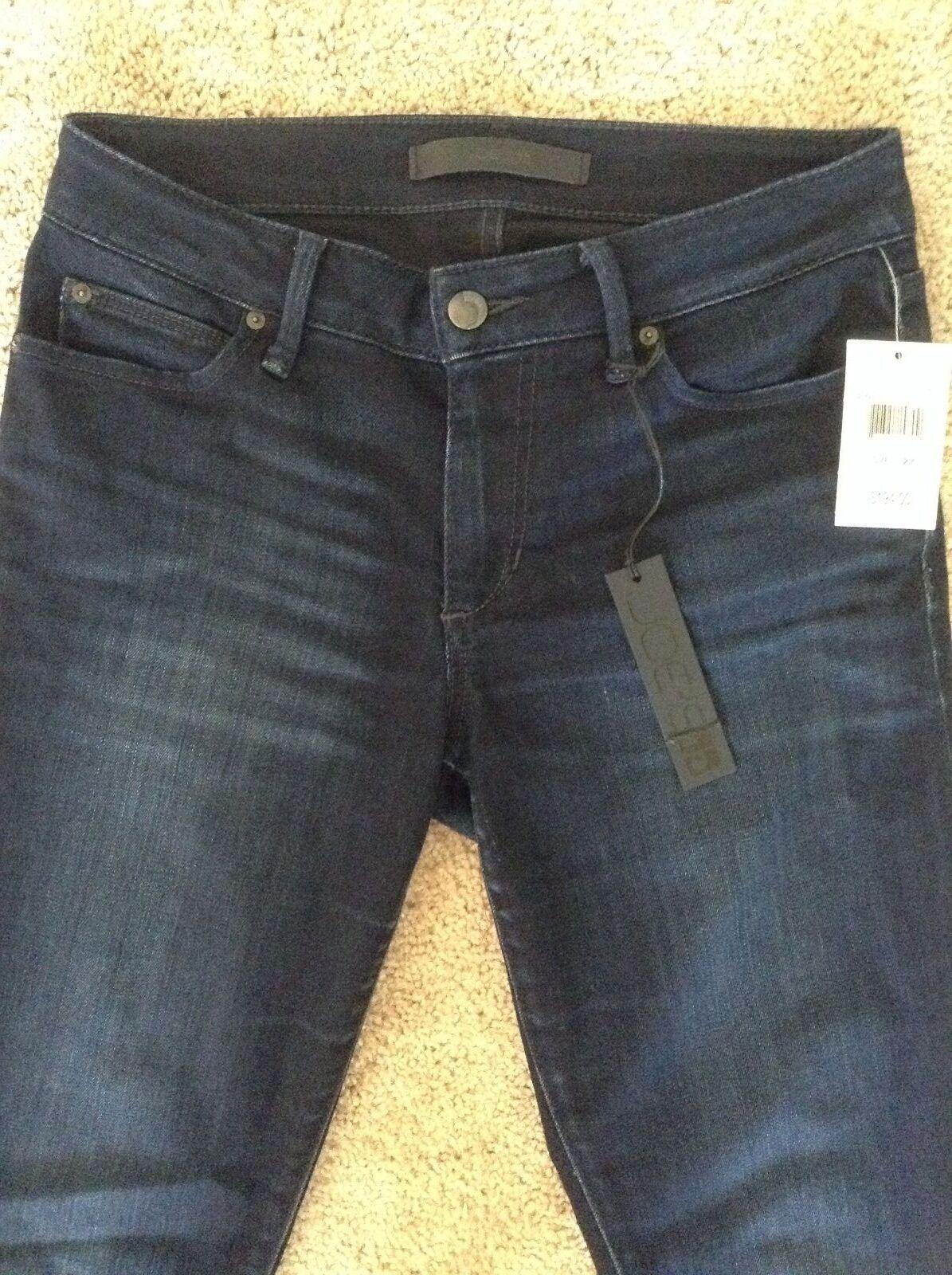 NWT Joe's Jeans  194 Flawless Honey Curvy Skinny Jeans Dark Wash27 waist