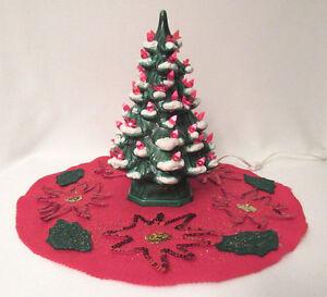 image is loading vintage 1960s mid century ceramic light up christmas - Ceramic Light Up Christmas Tree