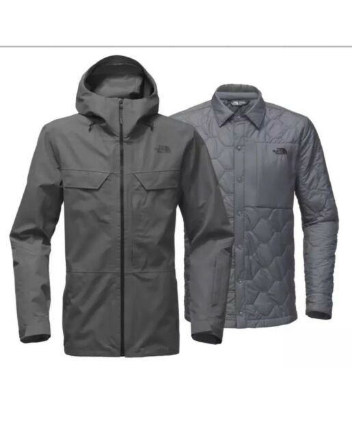 f440e26f2c82  449 NWT Mens The North Face 3L Triclimate Jacket Large Turbulence Grey 3  in 1