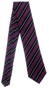 Von Gestreift Krawatte Schwarz Beere Mode 100 Seidenkrawatte Seide Monti Elegan dwYpx4pXq