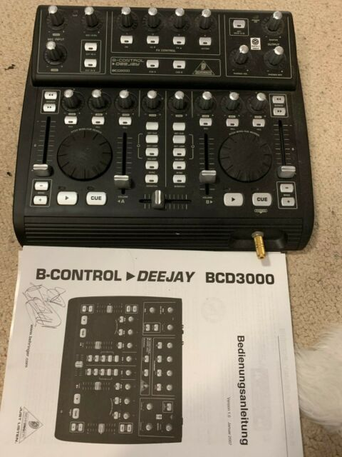 BEHRINGER BCD3000 DRIVERS DOWNLOAD (2019)