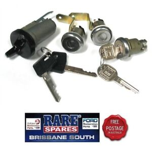 HOLDEN-HZ-ONLY-IGNITION-BARREL-2-DOOR-amp-BOOT-LOCK-WITH-KEYS-BRAND-NEW-GTS