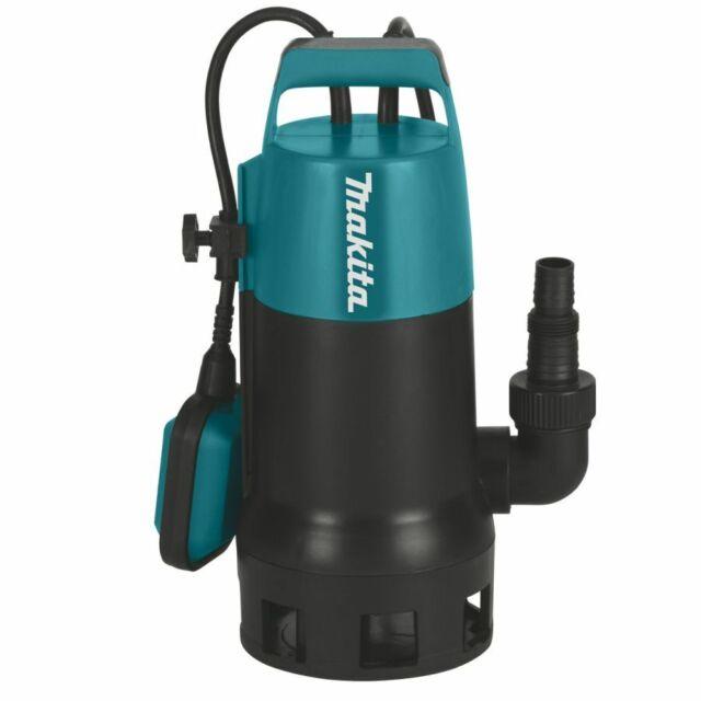 Makita Pompe vide-cave à eau chargée 1100 W - PF1010