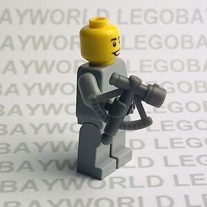 Lego Minifigure Spares 1 x Sextant Quadrant in Dark Bluish Grey 30154