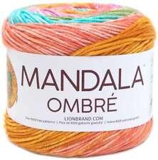 Lion Brand Mandala Yarn Cake 525 209 0318 Gnome 590 Yards 100/% Acrylic Free Ship