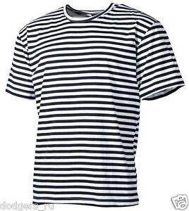 46c5a87825 Original Russian Navy Dark Blue Striped Sailor T-Shirt Telnyashka ...