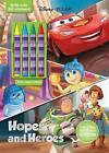 Disney Pixar Hopes and Heroes: Plus 4 Crayons by Parragon (Paperback / softback, 2015)