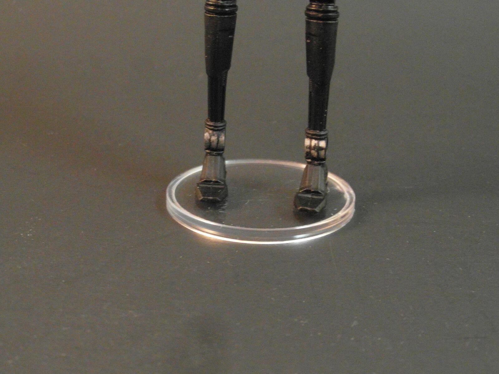 100 x Medium Disc - - - ACTION FORCE - Figure Stands - T4c d19162
