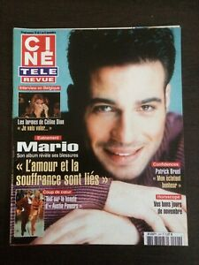 CINE-REVUE-2002-N-44-Mario-Celine-Dion-Bernard-Fresson-Patrick-Bruel