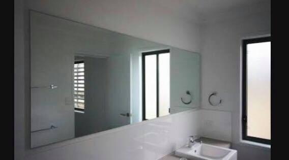 Wall Mirror Bathroom Bevel Edge Vanity