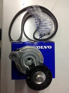 Genuine Volvo Auxillary Belt And Tensioner D5 XC60 V60 V70