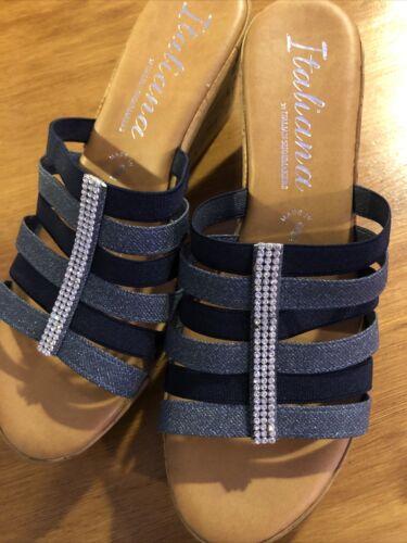 Italiana wedge sandal - image 1