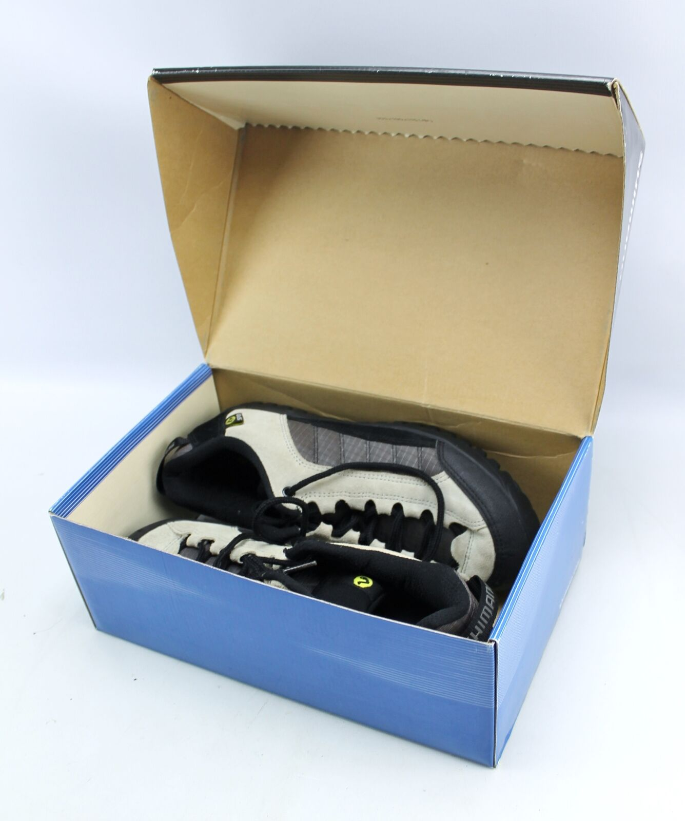 Shimano Khaki Charcoal  2 Bolt SPD Cycling shoes SH-M034 US 8.5  wholesale cheap and high quality