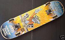 "MAUI AND SONS Groove On Tuff Kidz Blue Shark Complete SkateBoard 8"" x 31.25"""