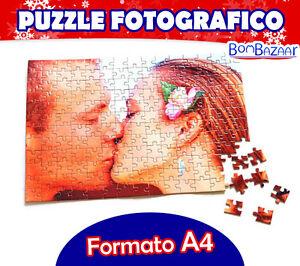 Puzzle PERSONALIZZATO CON LA TUA FOTO decorazioni idea regalo natale