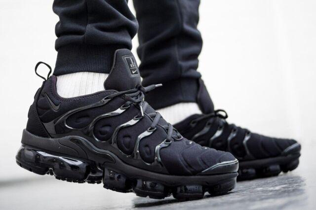 Nike Air Vapormax Plus Herrenschuhe Turnschuhe Sneaker Black  924453 004  *TOP*