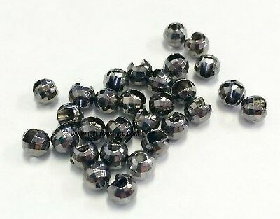 """TUNGSTEN SLOTTED FLY TYING BEADS COPPER 2.0 MM 5//64 /"""" 100 COUNT"""