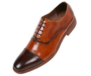 6065609fdca80 Details about Asher Green Mens TwoTone Brown & Tan Buffalo Calf Leather  Oxford : AG8806-028