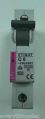 ETIMAT CIRCUIT BREAKER  6 AMP 16 AMP 32 AMP