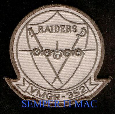 VMGR-352 RAIDERS US MARINES PATCH MCAS EL TORO MIRAMAR C-130 HERCULES BATTLEHERK