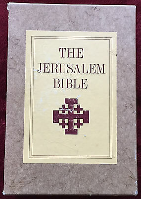 The Jerusalem Bible Vintage 1966 Scripture Little Known Books